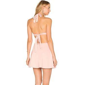 NWT LPA Dress 261 Skater Halter Neck Dress